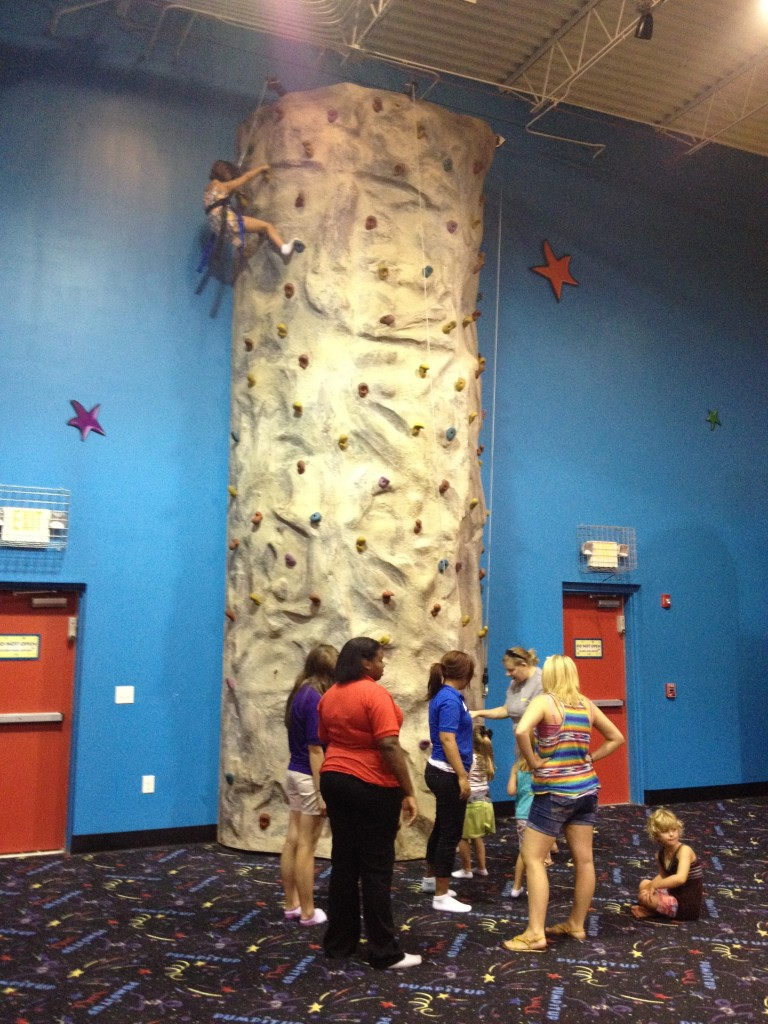 Pump It Up Mount Juliet Rock Wall