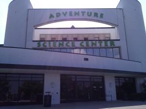 Adventure Science Center - Entrance - NashvilleFunForFamilies