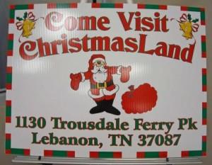 Nashville Christmas Lights - Christmas Land