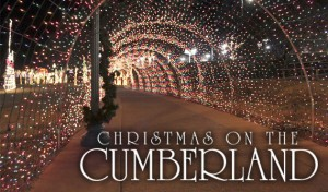 Nashville Christmas Lights - Christmas on the Cumberland