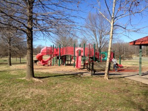 Shelby Bottoms Nature Center & Park playscape