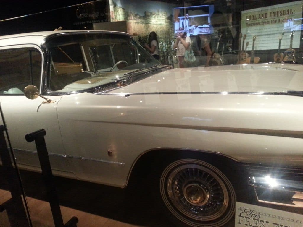 Country Music Hall of Fame vintage car