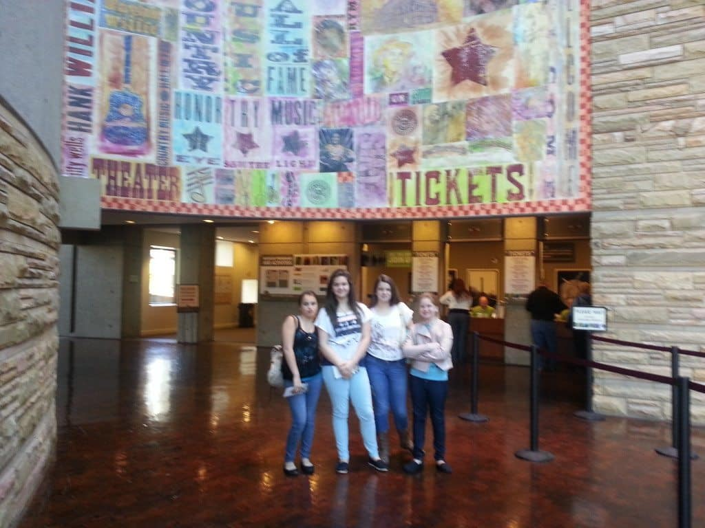 Country Music Hall of Fame front lobby
