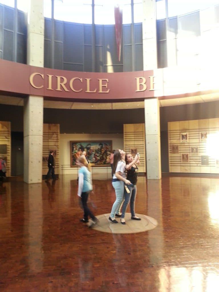 Country Music Hall of Fame atrium