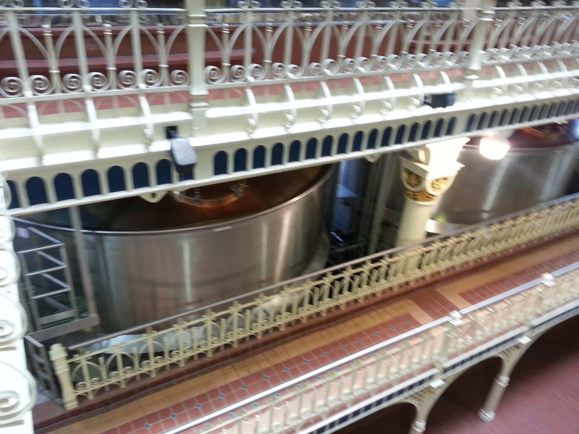 Budweiser Brewery Tour, St. Louis, MO - Making Beer