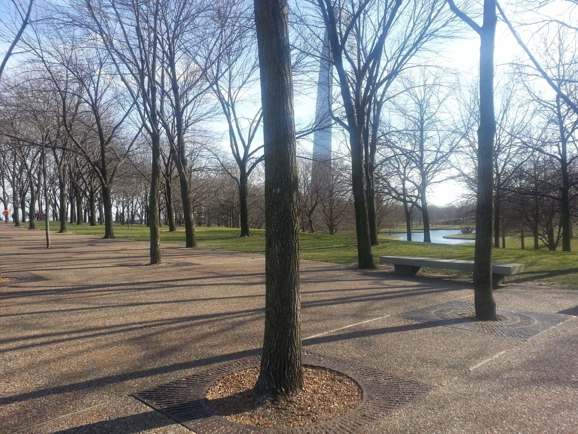 Gateway Arch, St Louis - Park surrounding the arch