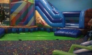 Hoppity Hop Inflatable slide