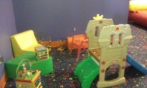 Hoppity Hop toddler play area