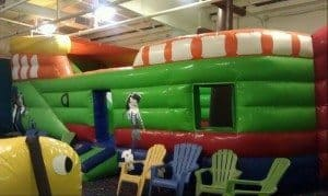 Hoppity Hop inflatable obstacle course
