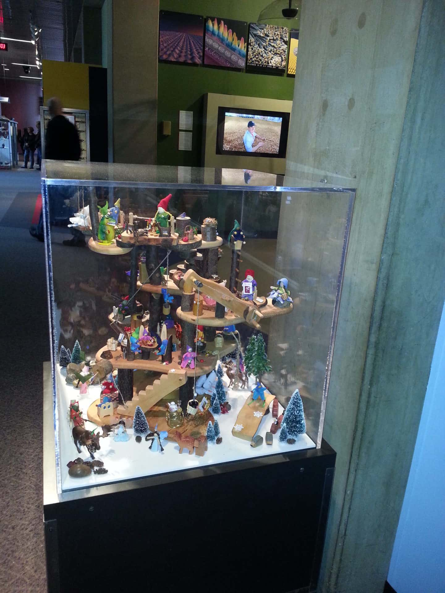 St Louis Science Center - Lego Display