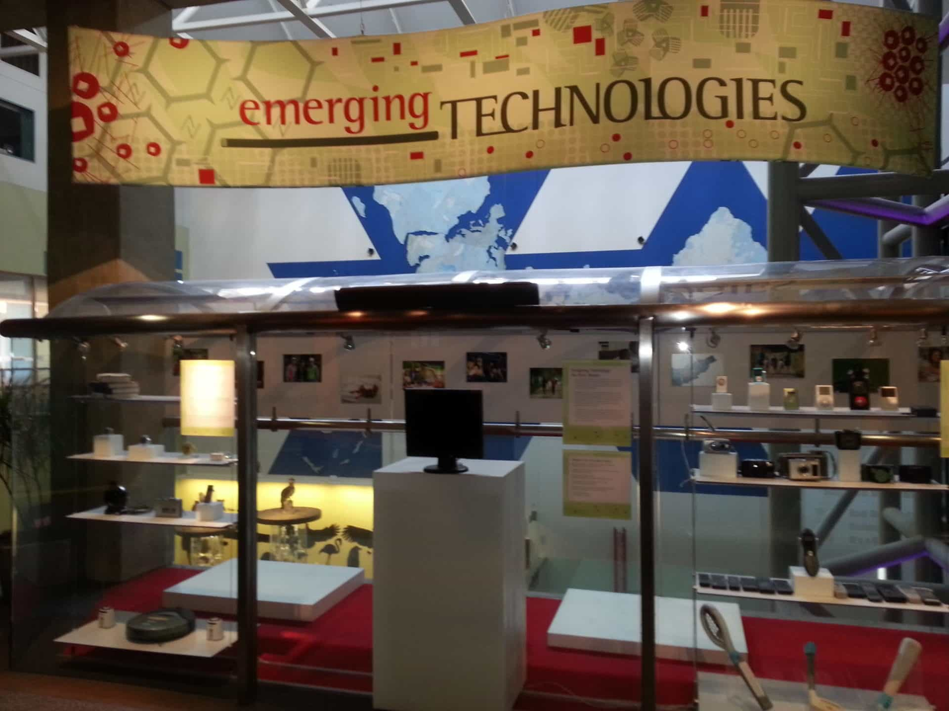 St Louis Science Center - emerging technology