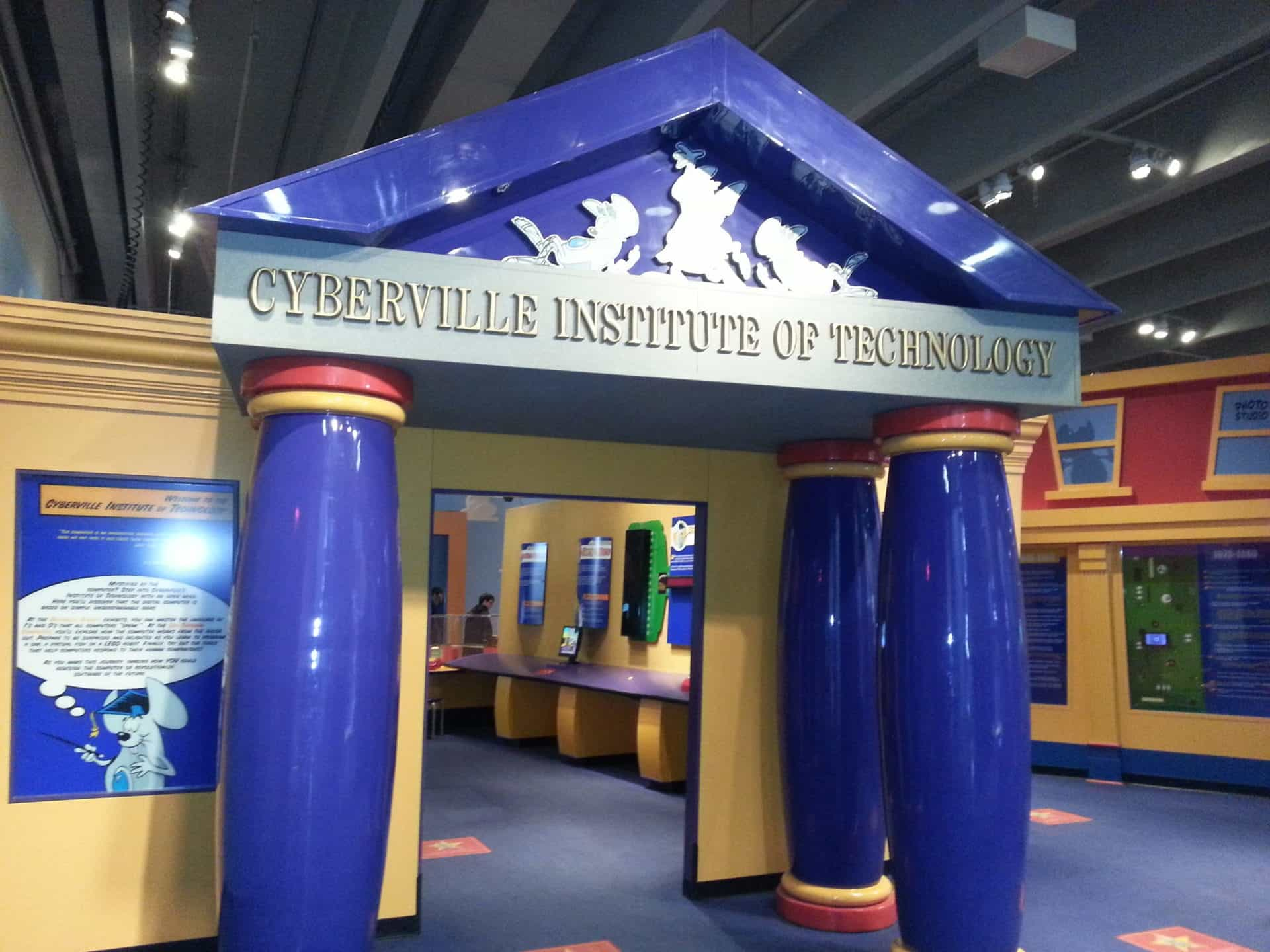 St Louis Science Center - Cyberville