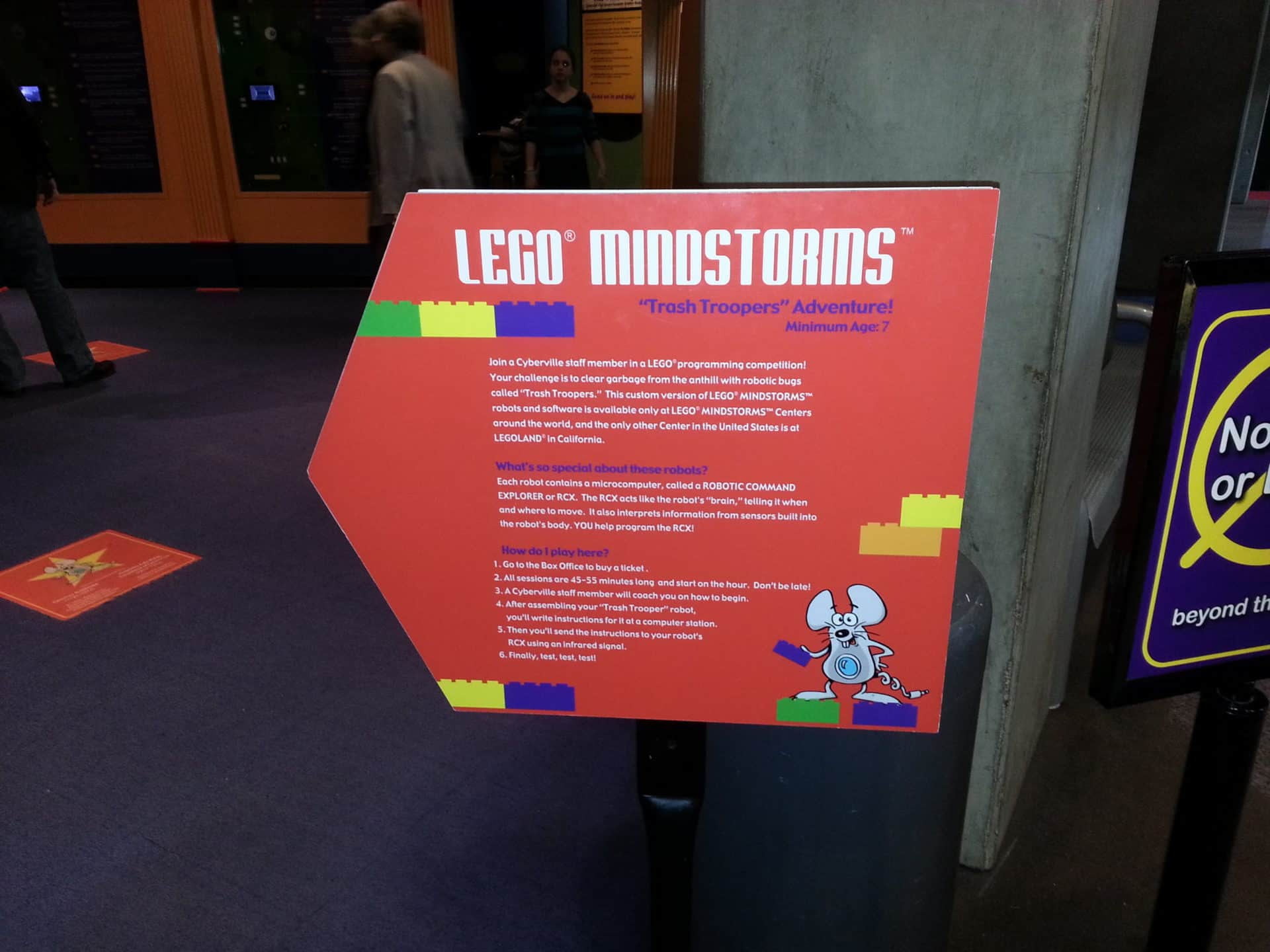 St Louis Science Center - Lego Mindstorm