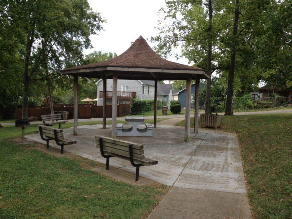 Reservoir Park Nashville - Gazebo Picnic Shelter