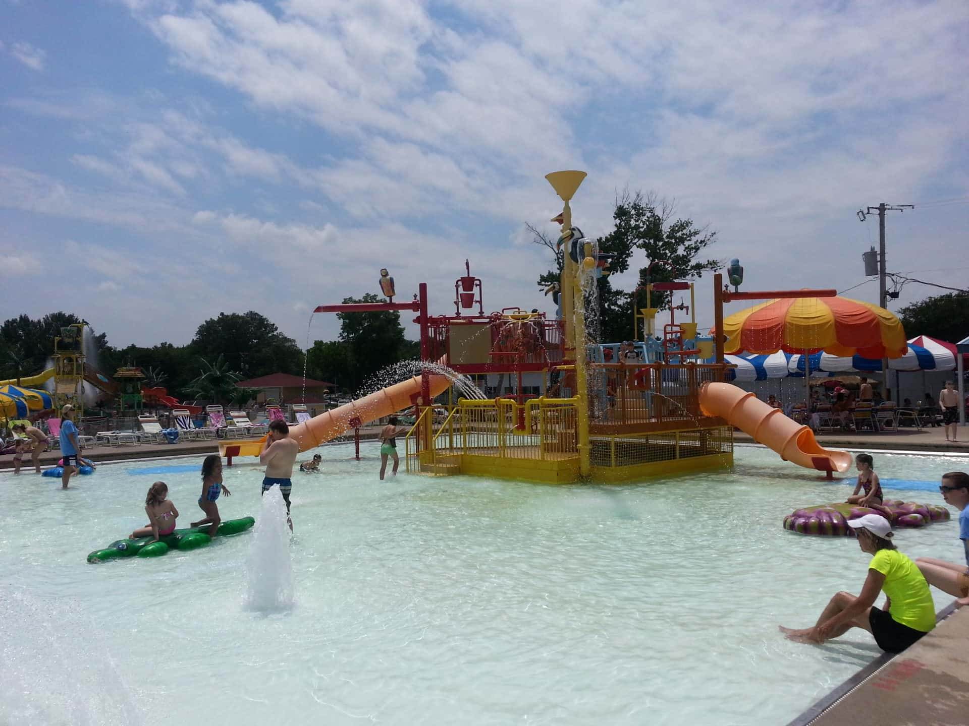 Beech Bend Park and Splash Lagoon - Slides