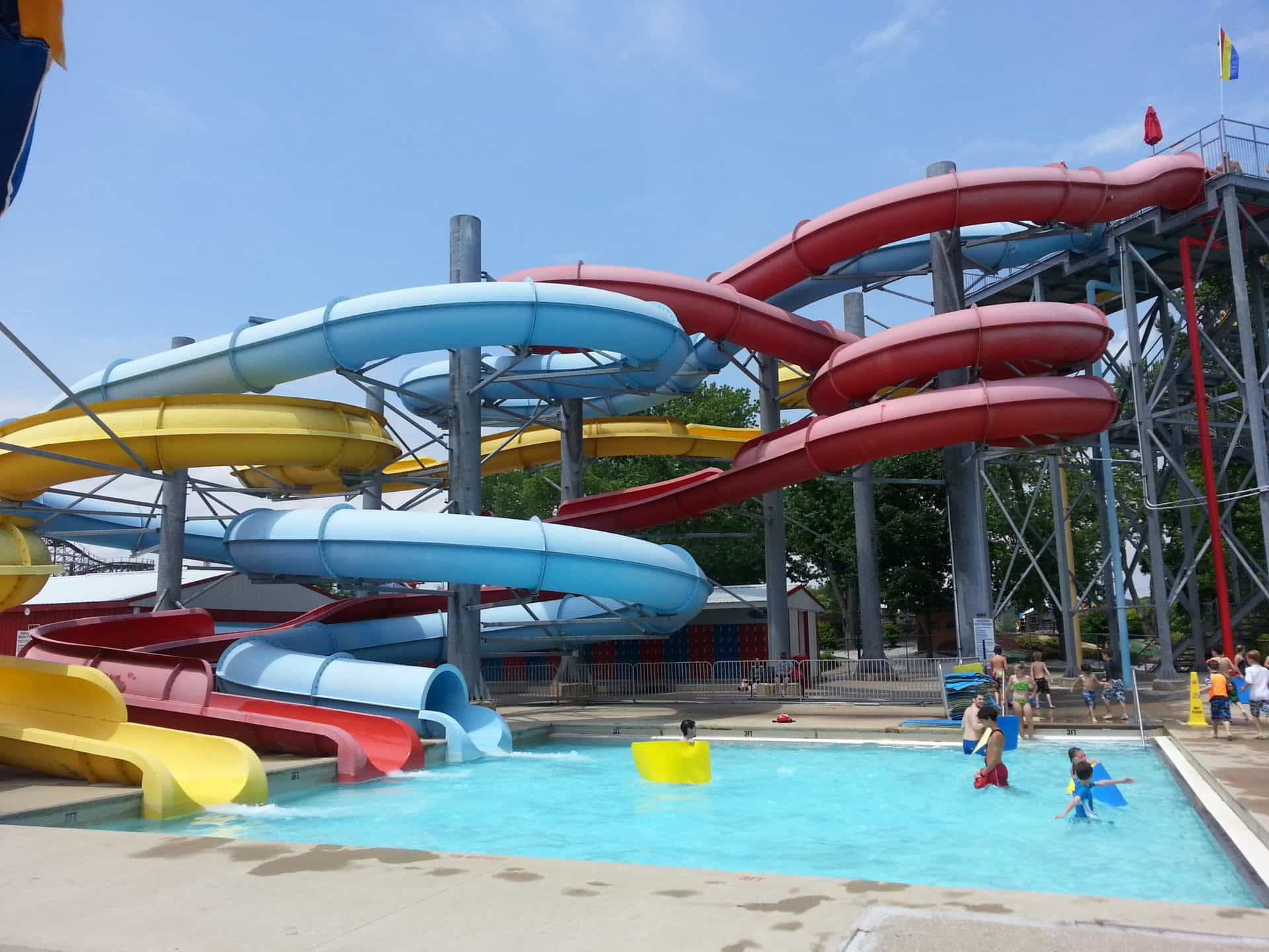 Beech Bend Park and Splash Lagoon - Water slide