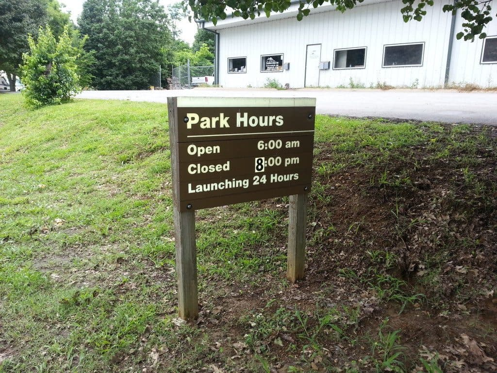 Laguardo Recreation Area park hours