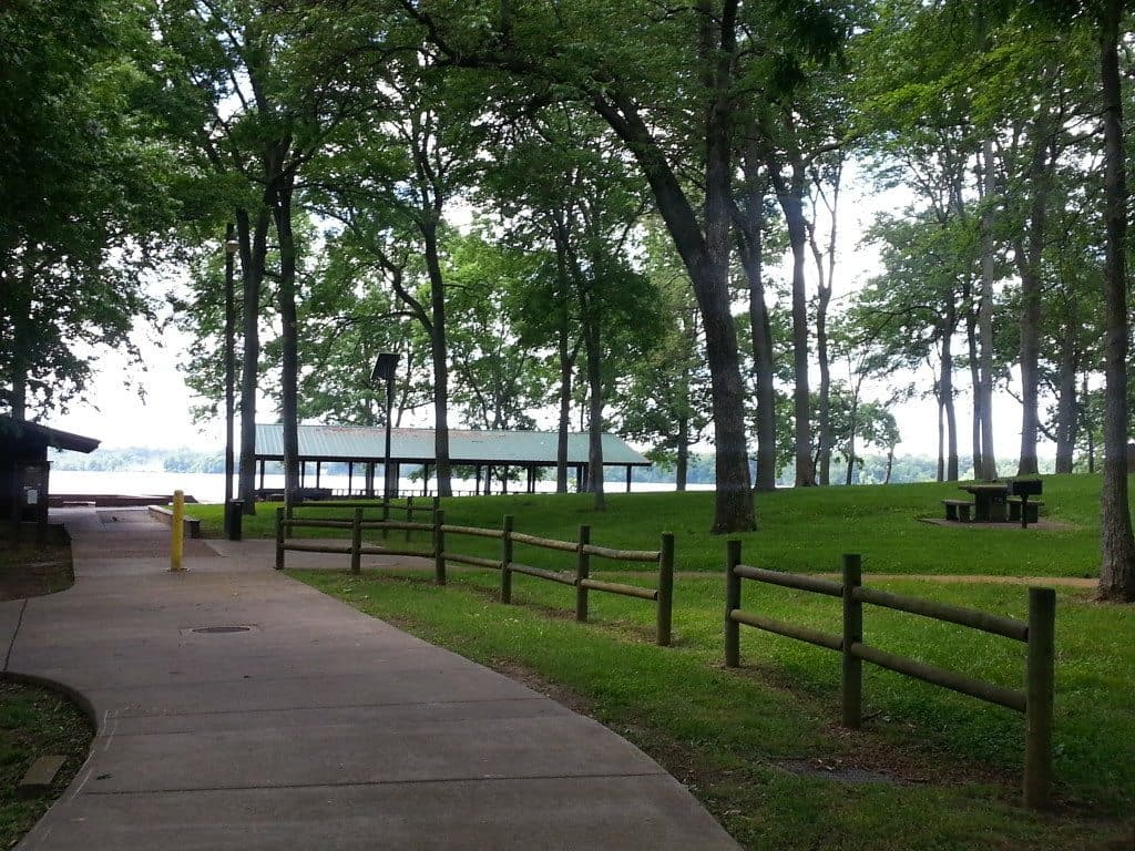 Rockland Recreation Area - Green space with trees