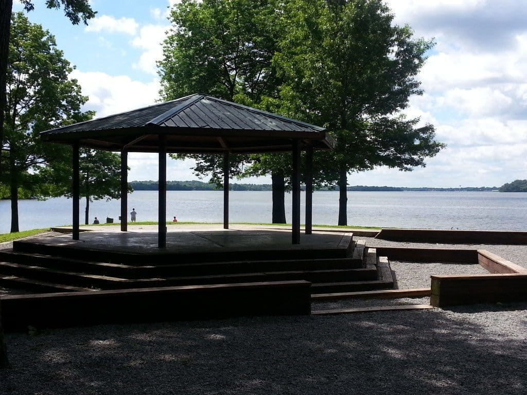 Rockland Recreation Area - Gazebo by the lake