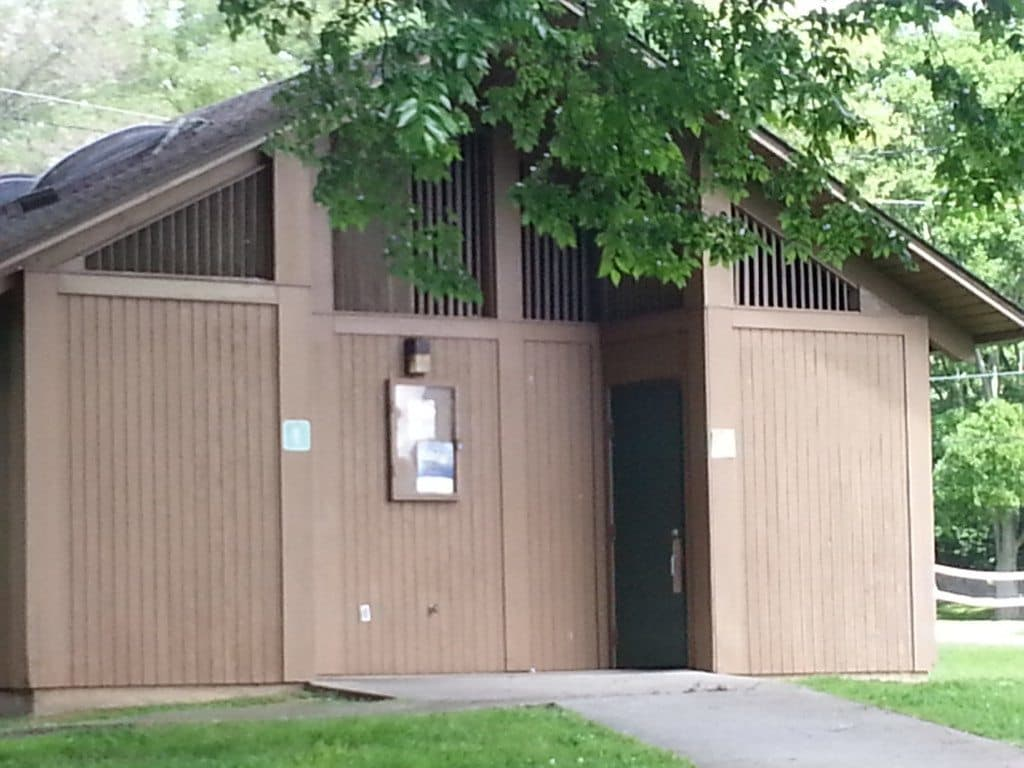 Rockland Recreation Area - Bathrooms
