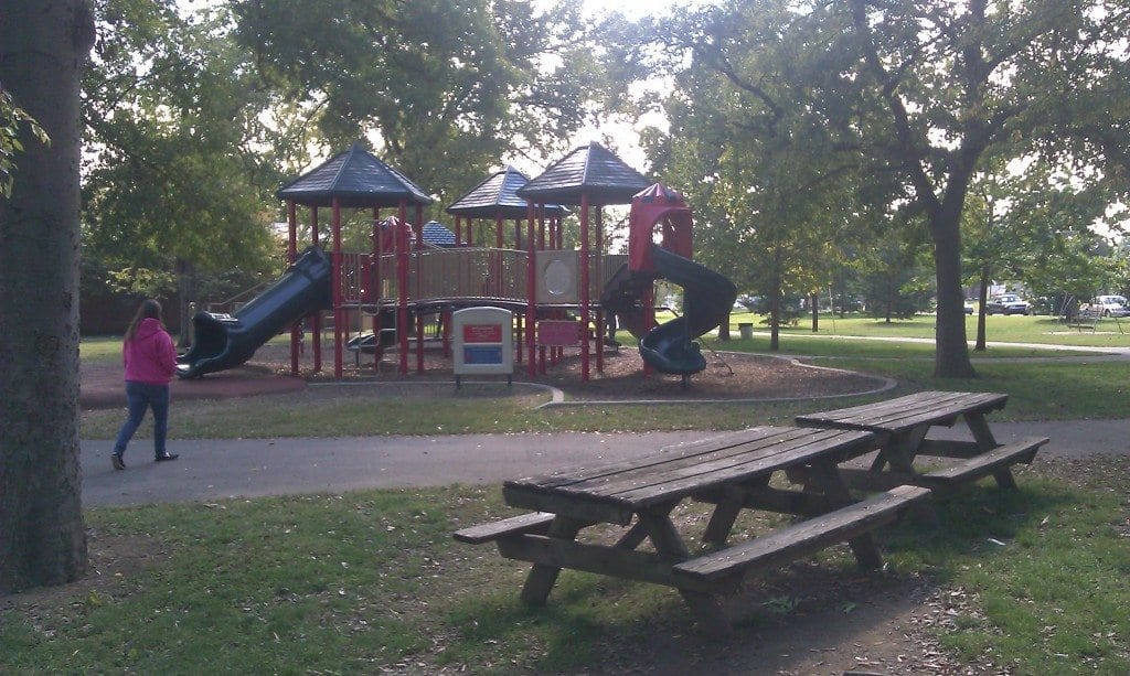 Centennial Park Nashville - A different view of the playscape