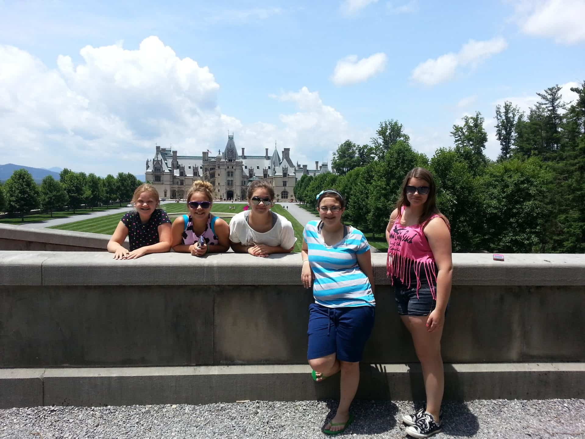Our crew at the Biltmore