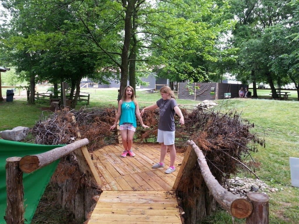 Lost River Cave - Outdoor Classroom Bridge