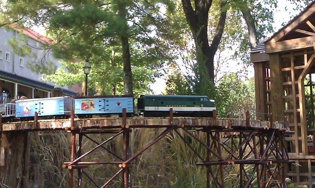 Cheekwood Toy trains