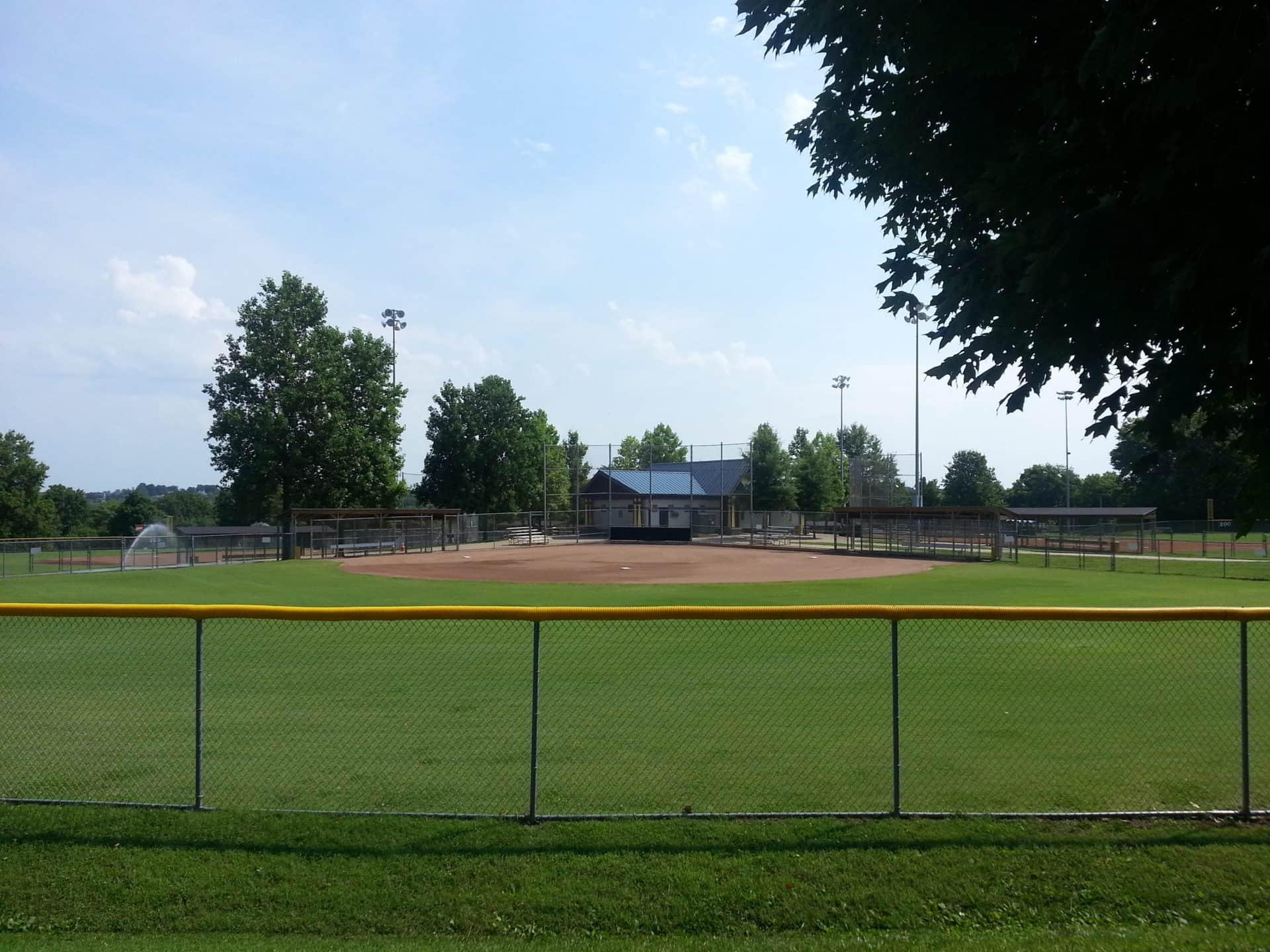 Crockett Park baseball field