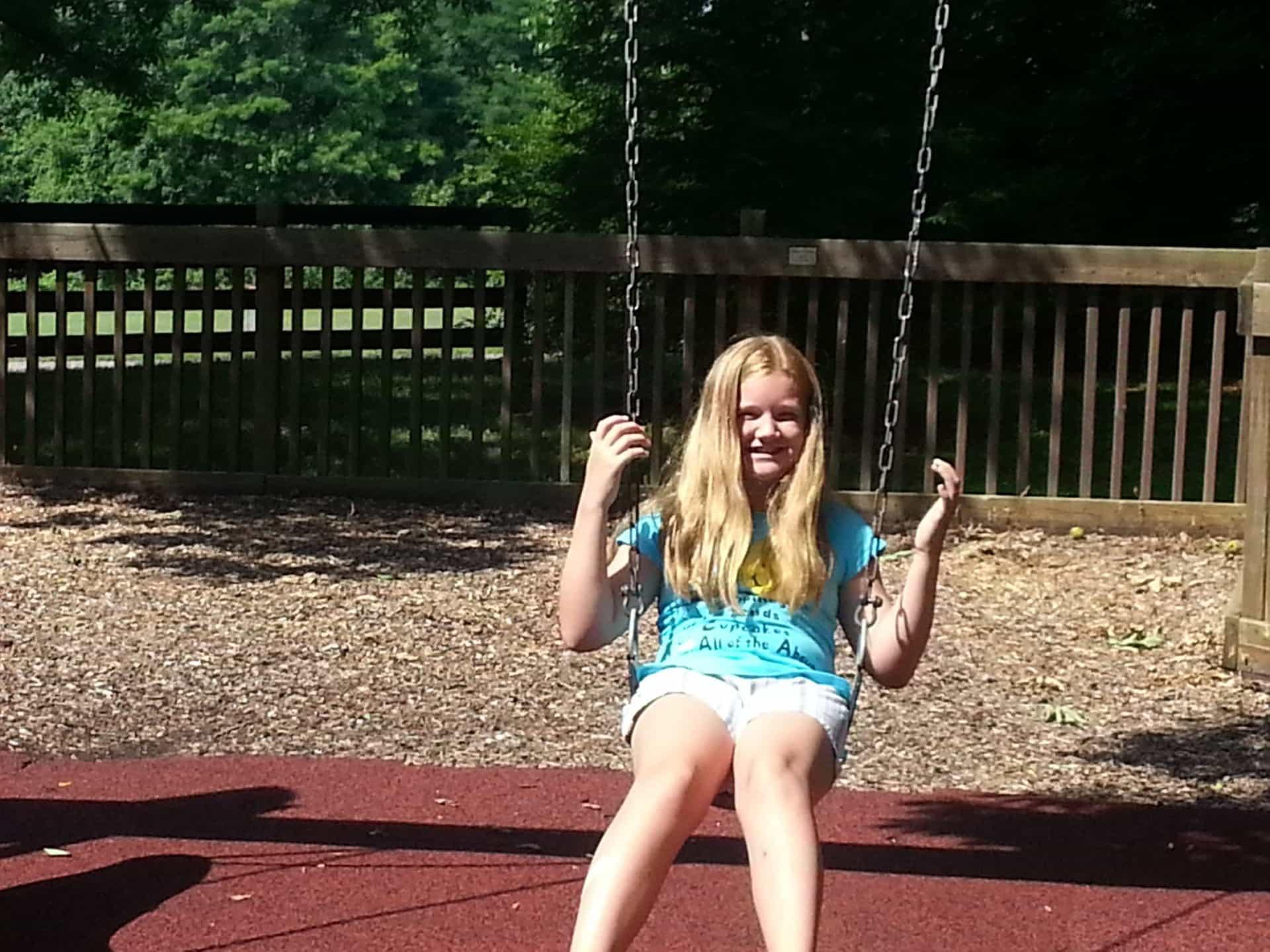 Swinging at Crockett Park