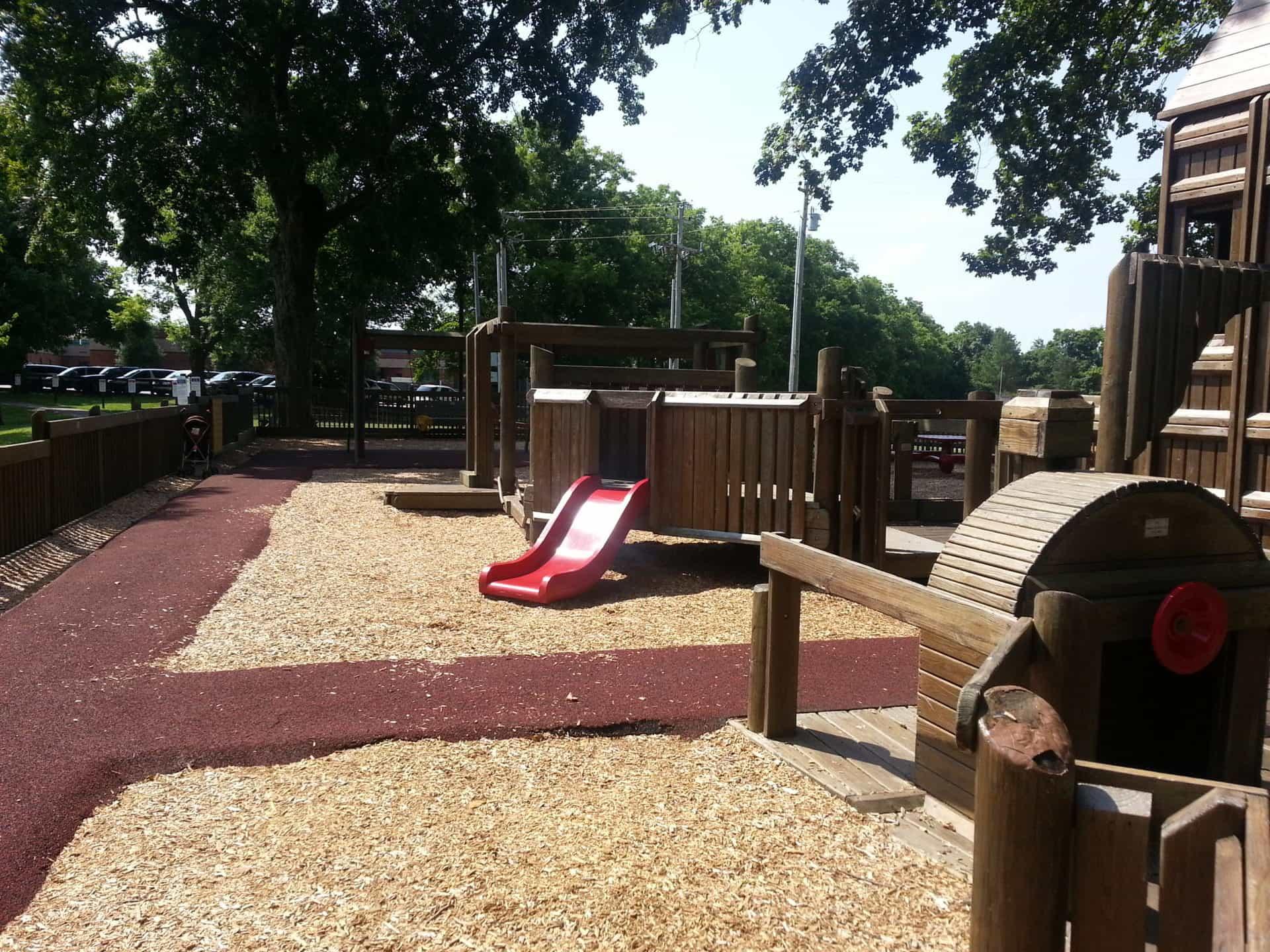 Crockett Park playground