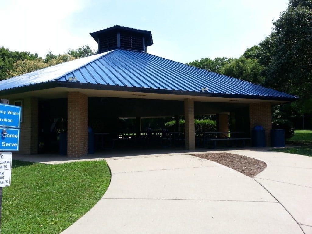 Granny White Park pavilion