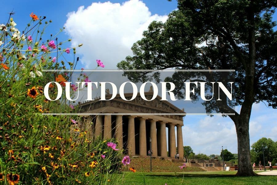 Things to do outdoors in Nashville, Tennessee