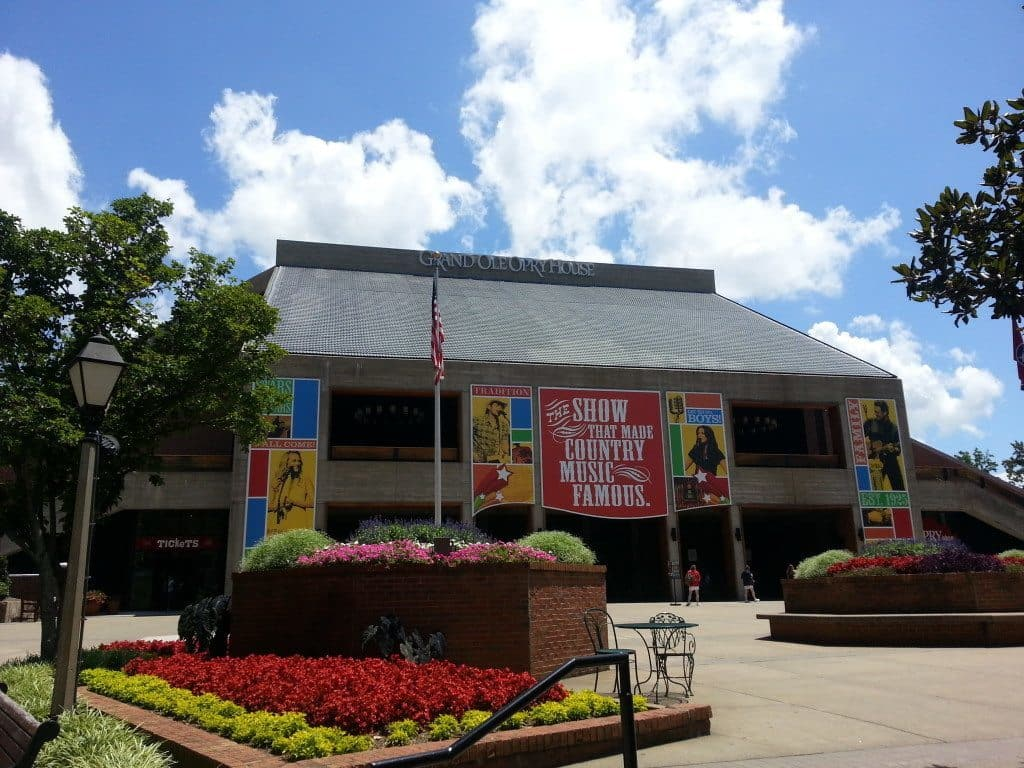 Grand Ole Opry Backstage Tour exterior