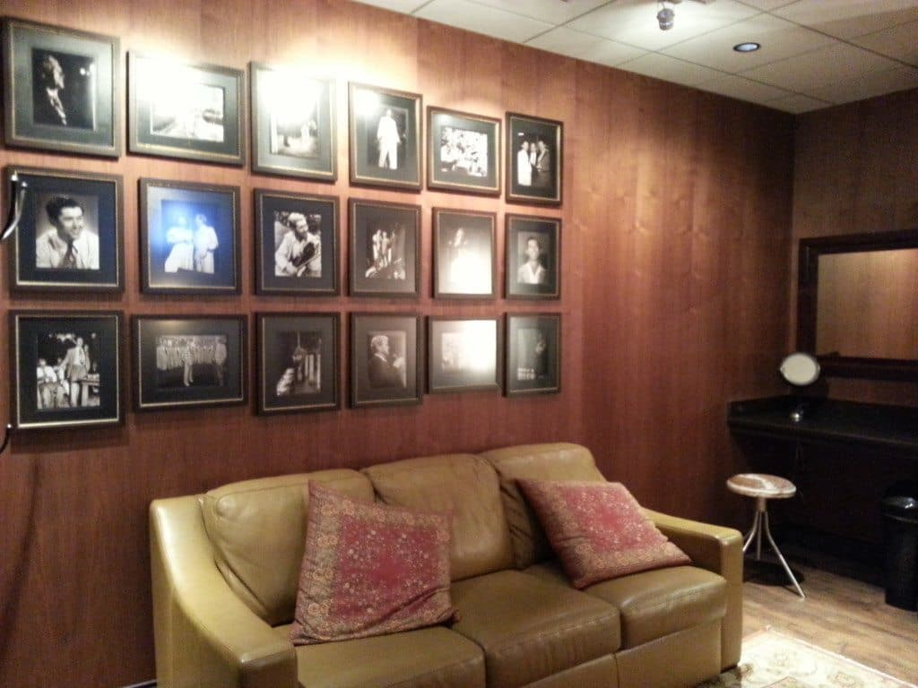 Grand Ole Opry Backstage Tour studio