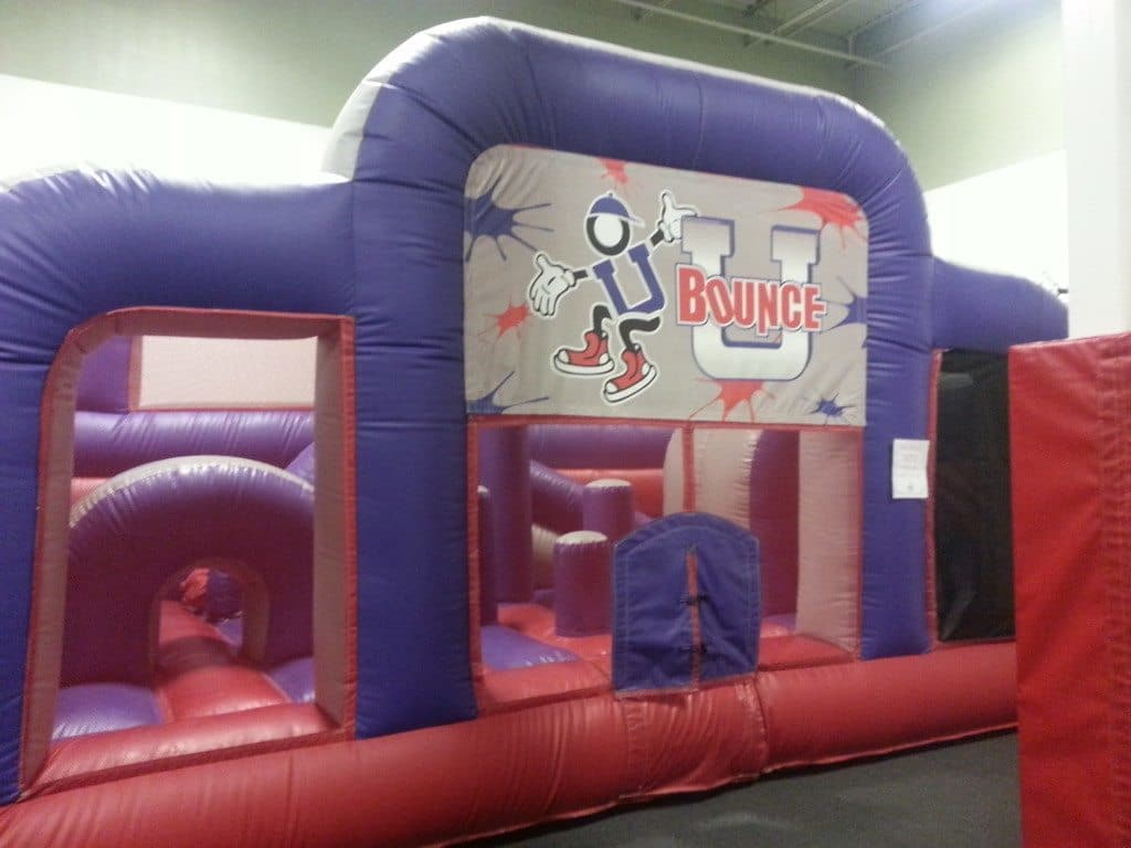 Bounce U - bouncy basketball