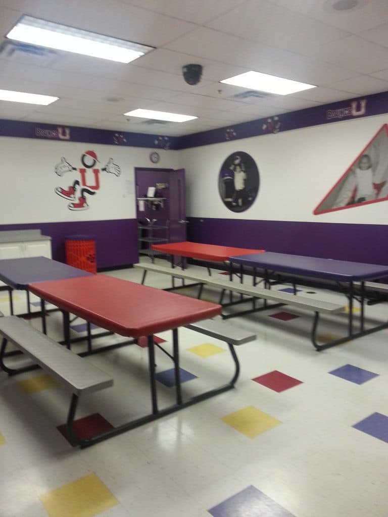 Bounce U - second party room