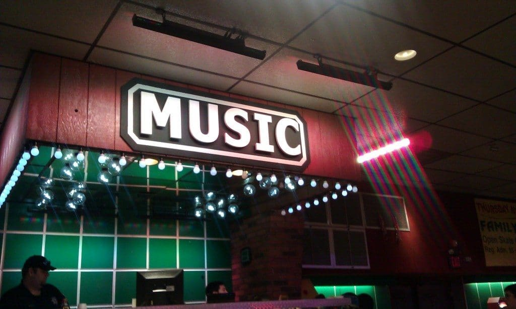 Brentwood Skate Center - DJ booth