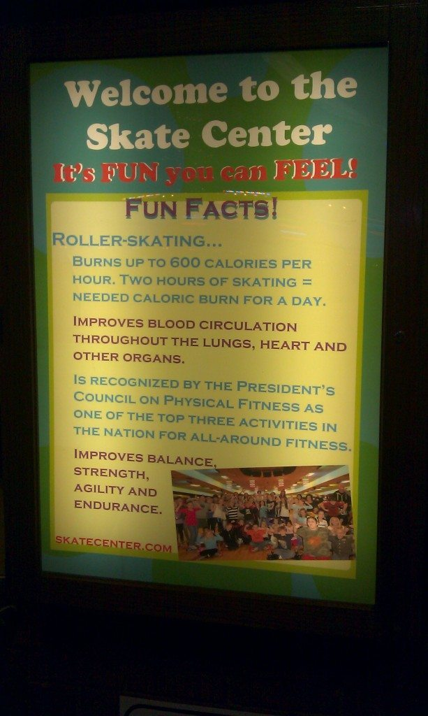 Brentwood Skate Center - Fun Facts