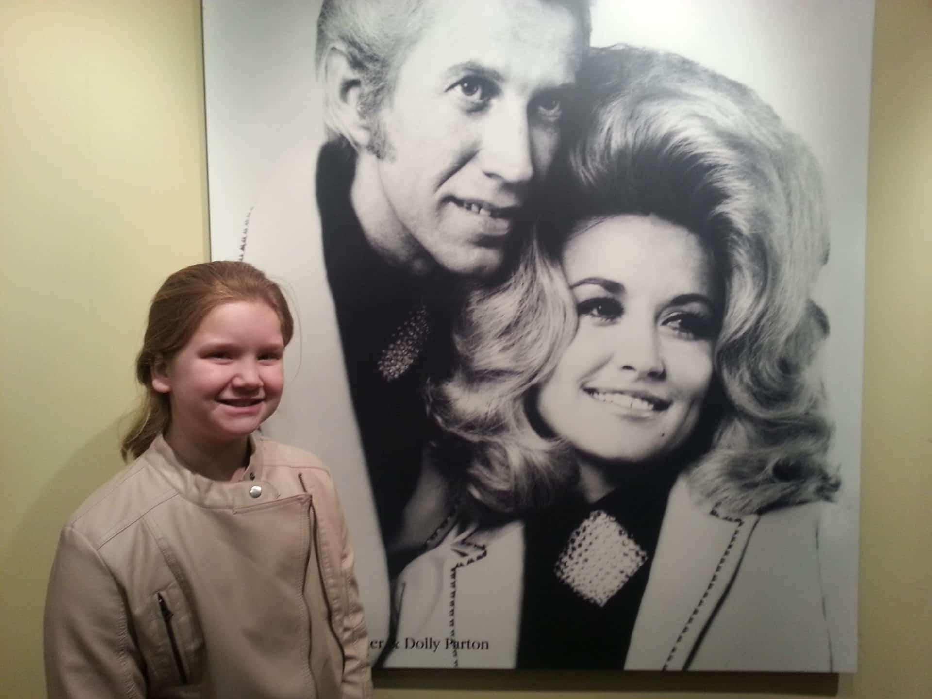 RCA Studio B Tour young Dolly Parton photo