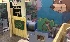 Discovery Center toddler play area