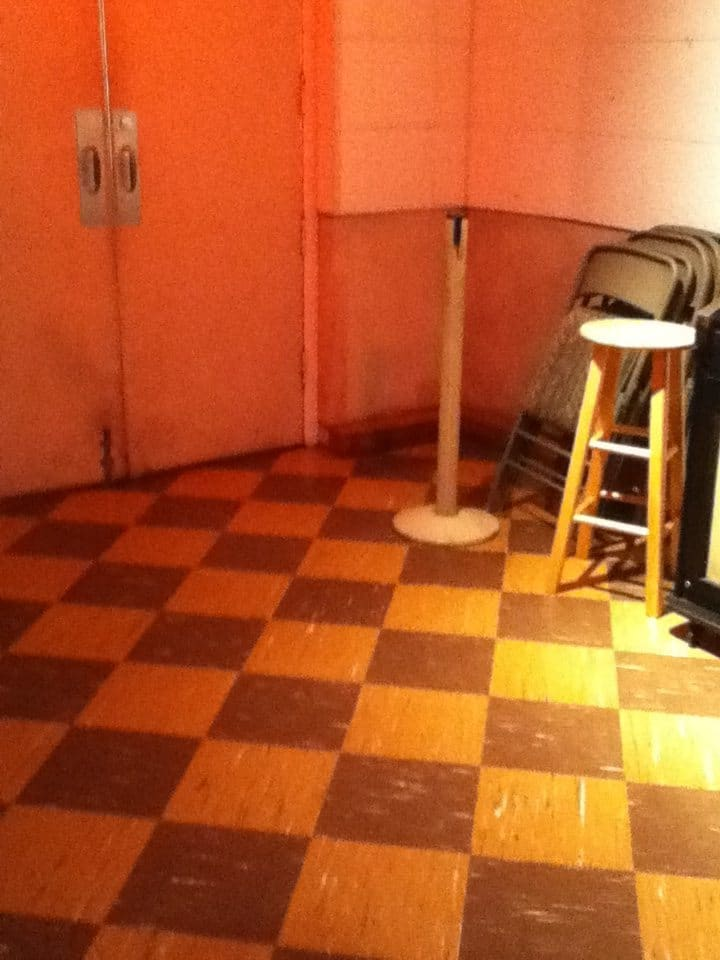 RCA Studio B Tour floor tiles