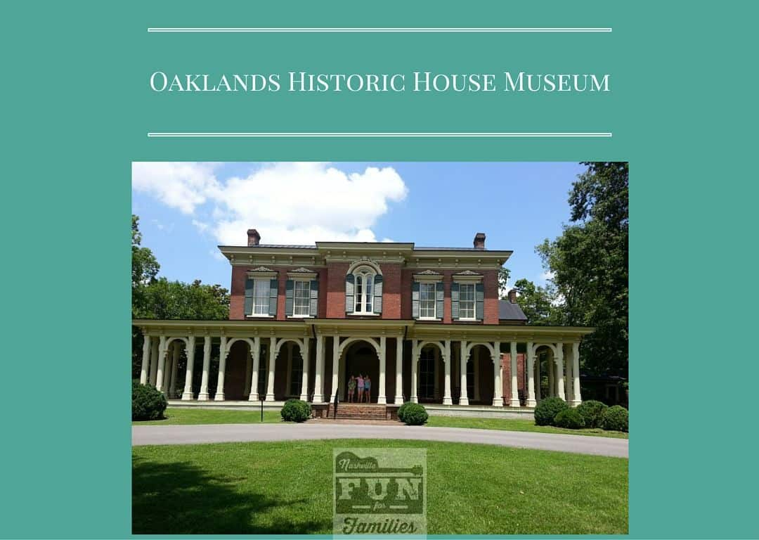 oaklands historic house museum