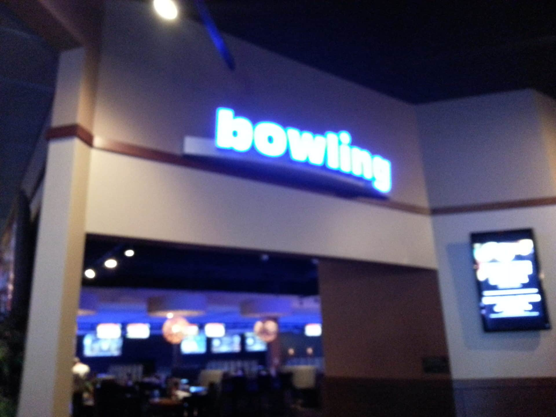 Dave and Busters Bowling