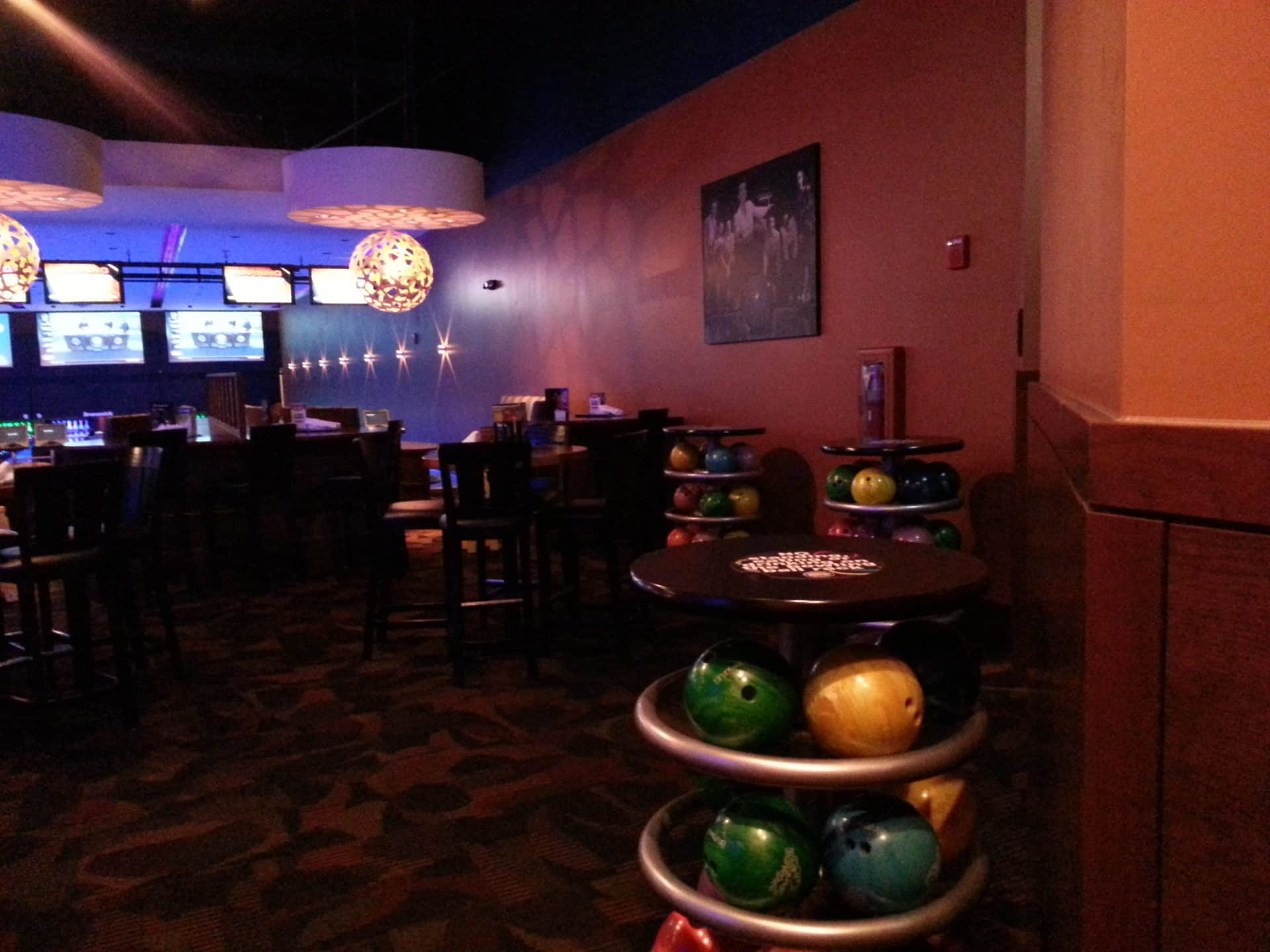 Dave and Busters Bowling Balls