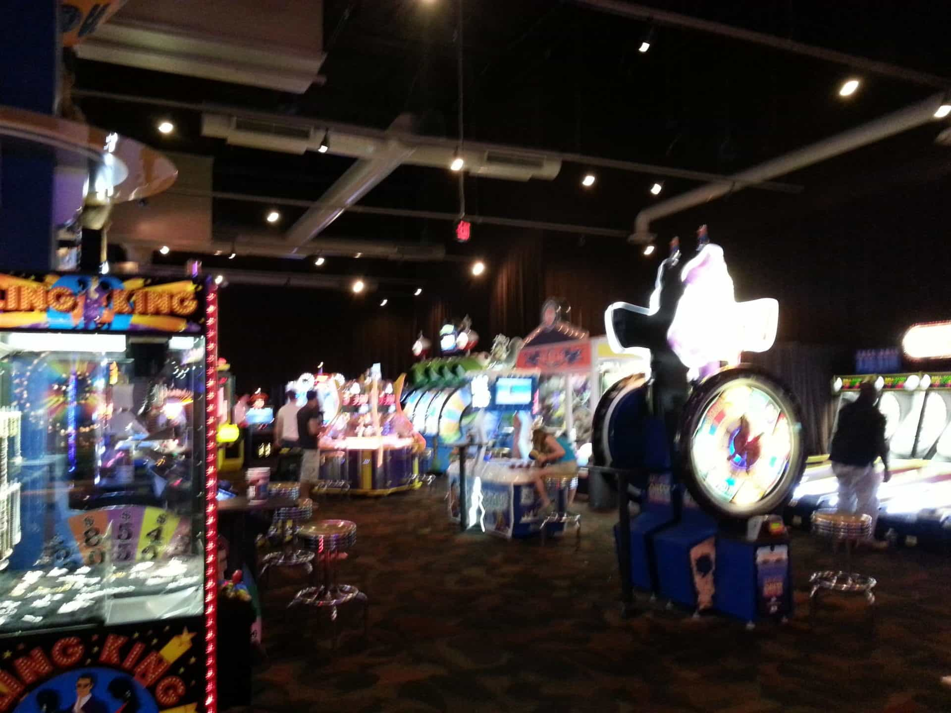 Dave and Busters Game Area