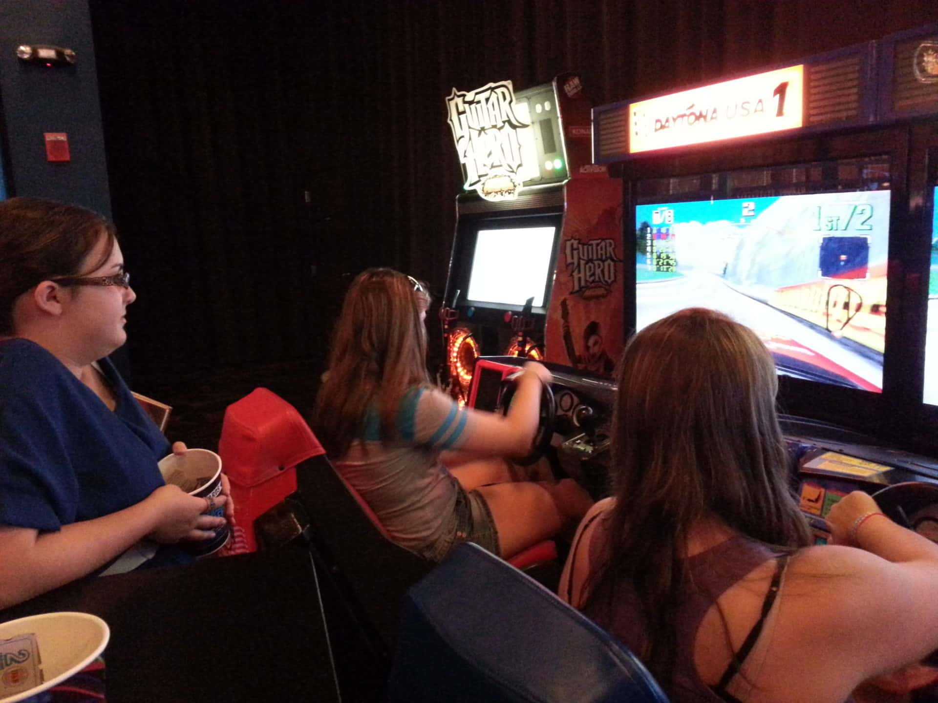 Dave and Busters Racing Games