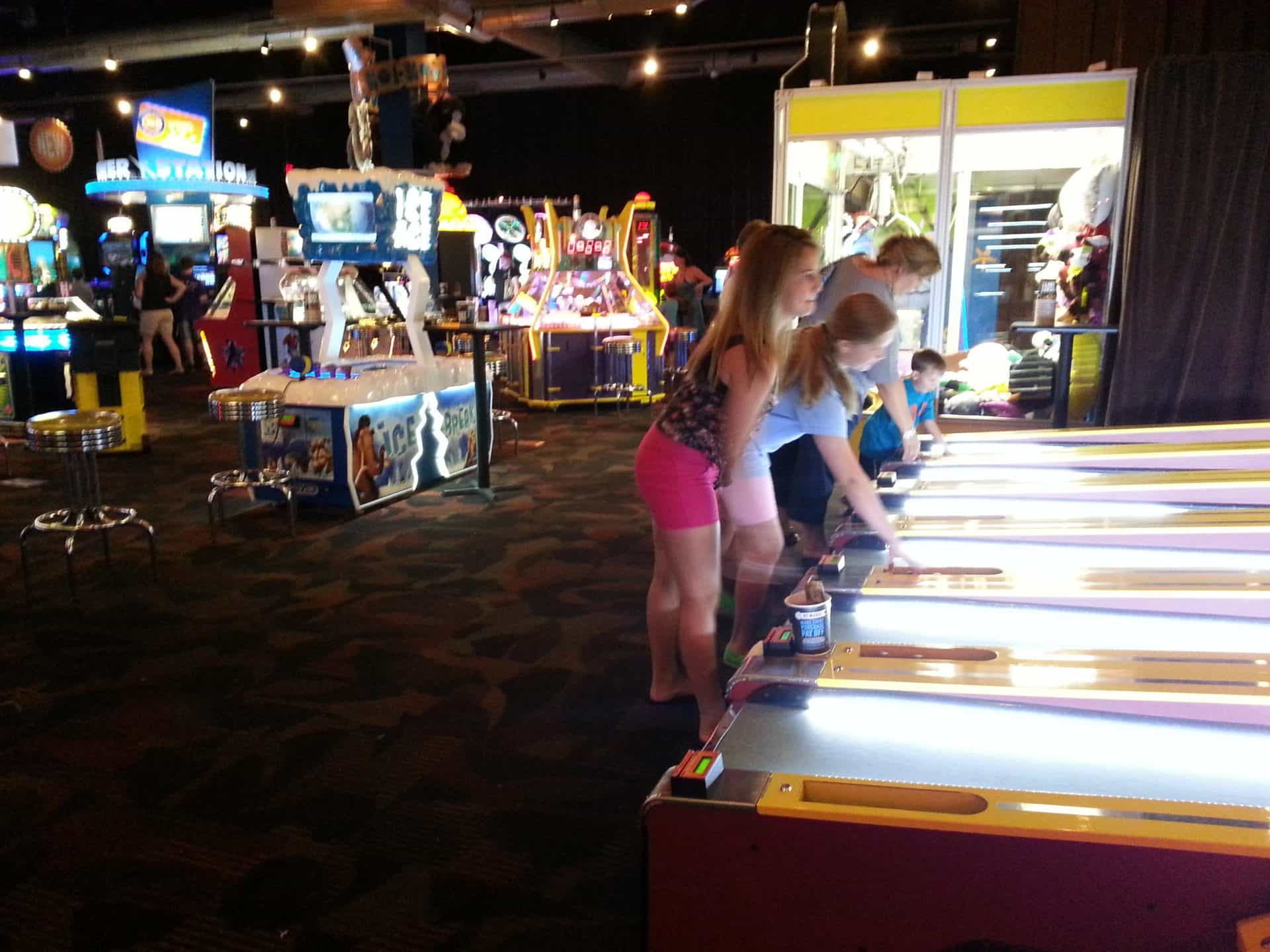 Dave and Busters More Games