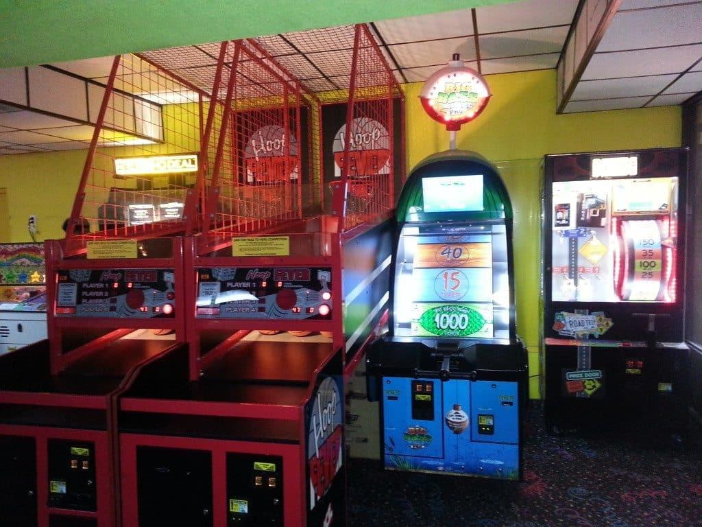 Skate Center West arcade area