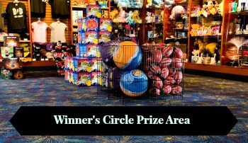 Dave and Busters Winner's Circle Prize Area